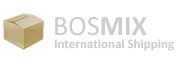Bosmix international shipping logo
